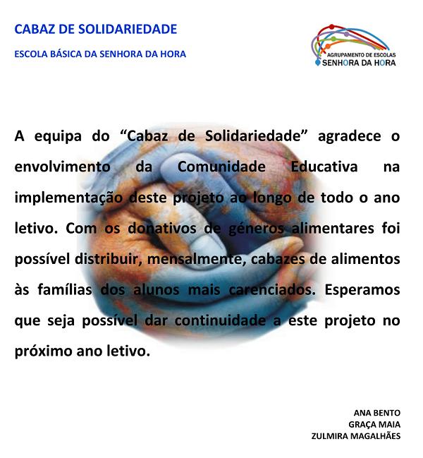 Cabaz de solidariedade