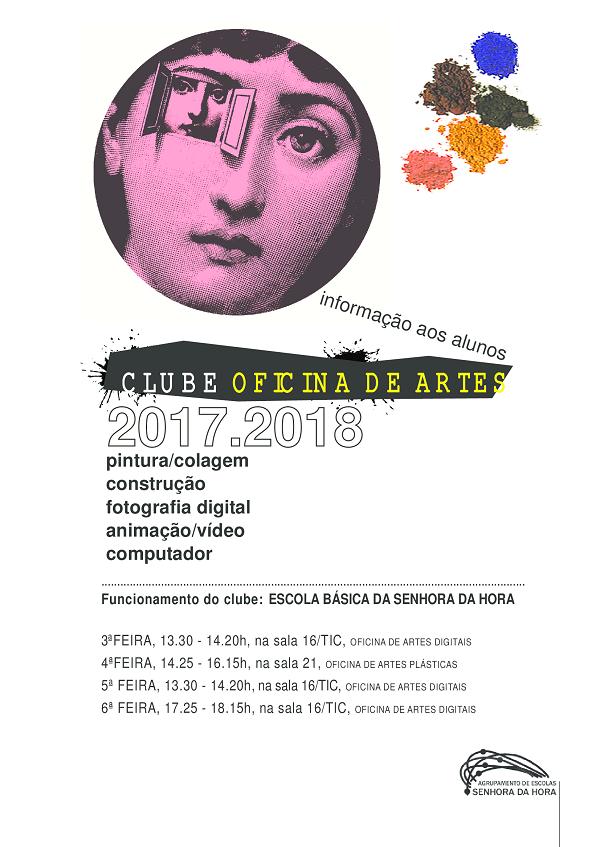 Clube Oficina Artes 2017/2018
