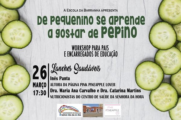 Workshop sobre lanches saudáveis