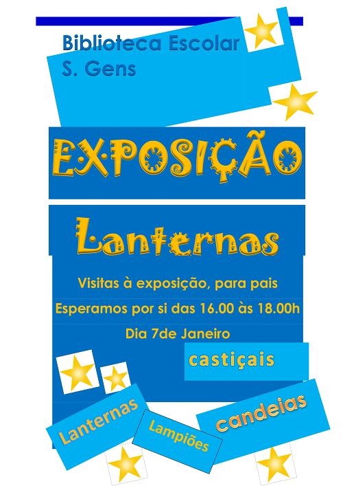 Exposição lanternas
