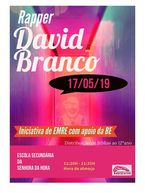 Rapper David Branco