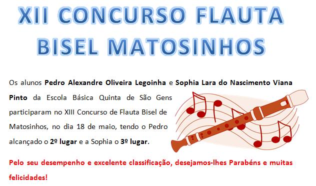 XII Concurso Flauta Bisel Matosinhos
