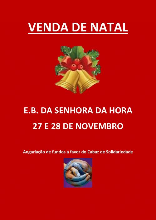 Venda de Natal - Escola Básica Senhora da Hora