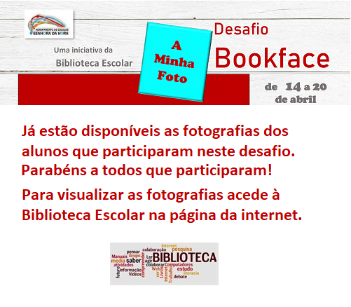 Fotografias do Desafio Bookface
