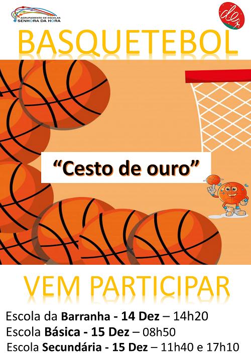 Basquetebol - vem participar